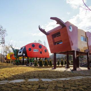 예천 삼강 나루 캠핑장