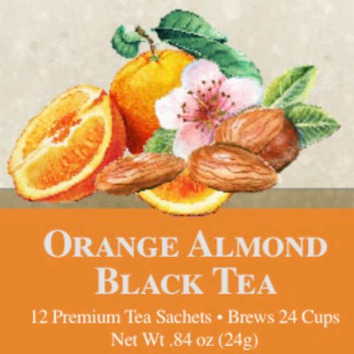 Orange Almond Black Tea