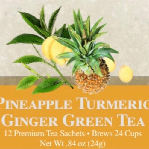 Pineapple Turmeric Ginger Green Tea