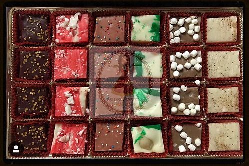 Holiday Fudge - 2 dz pcs
