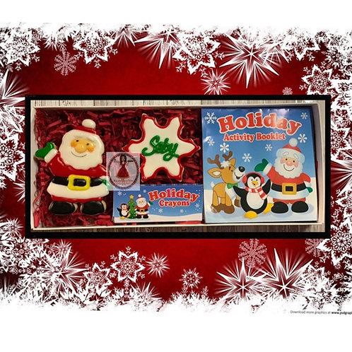 Santa Cookie & Color box