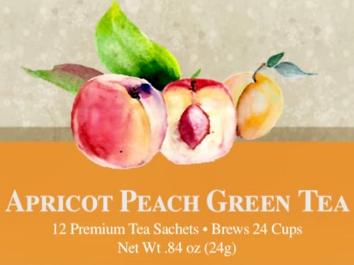 Apricot Peach Green Tea