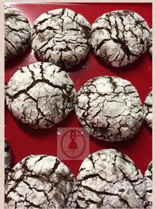 Mocha Crinkle Cookies 1 dz