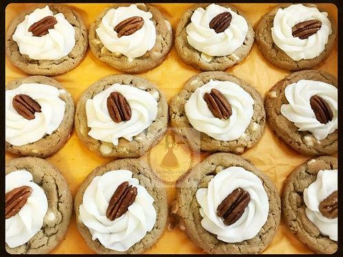 Maple Pecan White Chocolate Chip Cookies - 1 dz