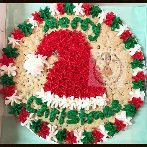Christmas Giant Cookie Cake