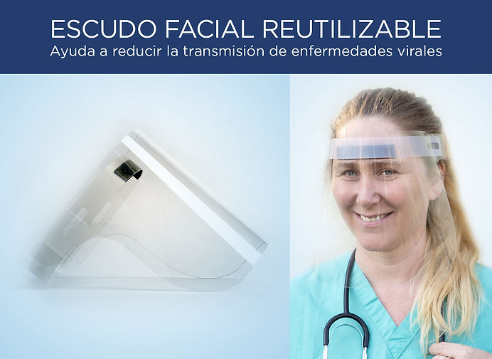Escudo Facial Reutilizable