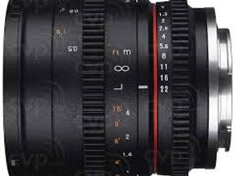 Samyang 50mm T1.3 AS UMC CS (Canon M)