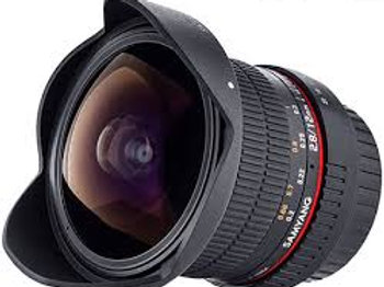 Samyang 12mm T3.1 VDSLR ED AS NCS Fisheye (Fuji X)