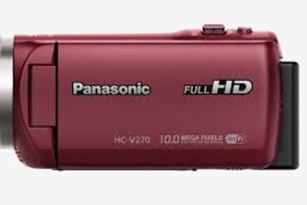 Panasonic HC-V270 Camcorder Red