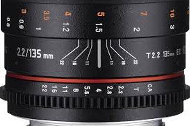 Samyang 135mm T2.2 ED UMC VDSLR Cine (Nikon)