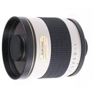 Samyang 800mm MC f/8 Mirror T2 Mount White Nikon