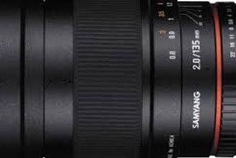Samyang 135mm f2.0 ED UMC (Nikon AE)