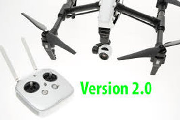 DJI Inspire 1 V2.0 with Zenmuse X3 (Single remote)