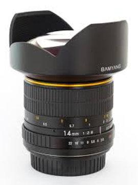Samyang 14mm f2.8 IF ED UMC Aspherical (Canon)
