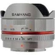 Samyang 7.5mm 13.5 UMC Fish-eye MFT Silver (M34)