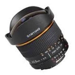 Samyang 8mm T3.8 Asph IF MC Fisheye CS II Samsung