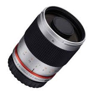 Samyang 300mm f6.3 Mirror Lens Silver (Fuji X)