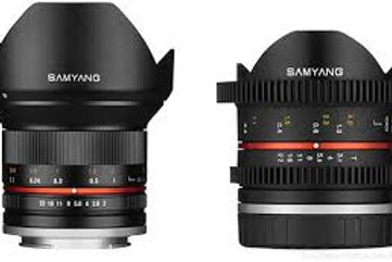 Samyang 8mm T3.1 V-DSLR UMC Fish-eye II (Fuji X)