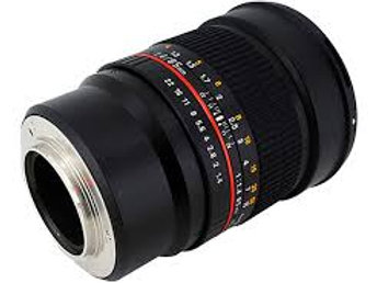 Samyang AE 85mm f1.4 Aspherical IF for Nikon Red