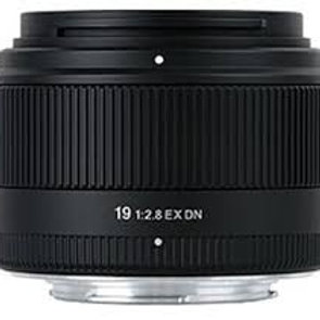 Sigma 19mm F2.8 DN Art for Micro Four Thirds Black