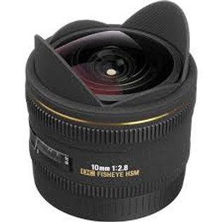 Sigma 10mm F2.8 EX DC FISHEYE HSM (Canon)