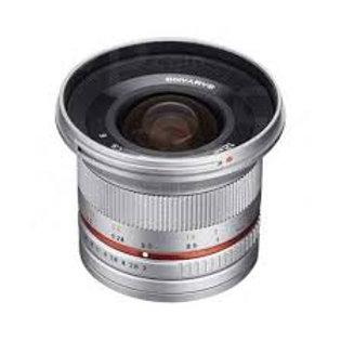 Samyang 12mm f2.0 NCS CS Silver (Micro 4/3)