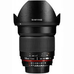 Samyang 16mm f2.0 ED AS UMC CS (Nikon)