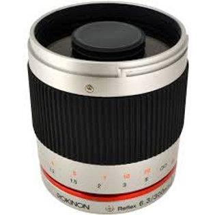 Samyang 300mm f6.3 Mirror Lens Silver (E Mount)