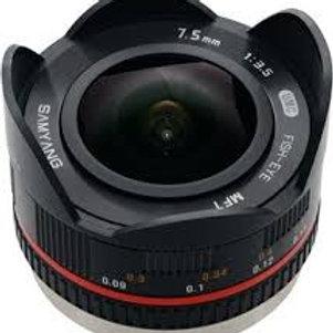 Samyang 7.5mm 1:3.5 UMC Fish-eye MFT Black (M3/4)