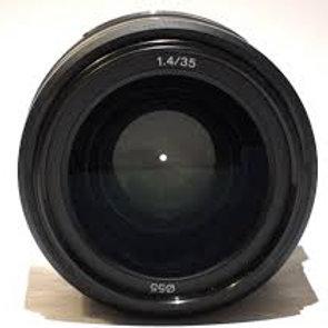 Sony 35mm F1.4G