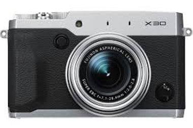 Fujifilm FinePix X30 Silver
