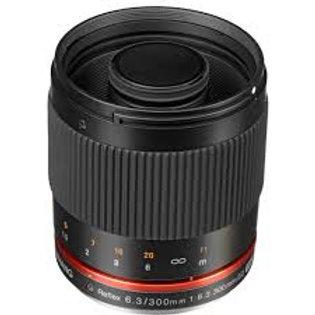 Samyang 300mm f6.3 Mirror Lens for E Mount Black