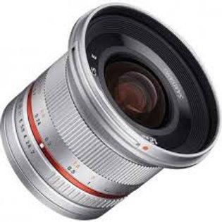 Samyang 12mm f2.0 NCS CS Silver (Fuji X)