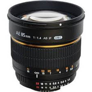 Samyang 85mm f1.4 Aspherical IF (Micro Four Thirds