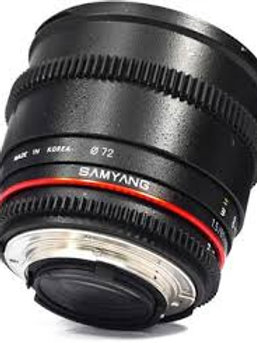 Samyang 85mm T1.5 AS IF UMC VDSLR II Sony E-Mount