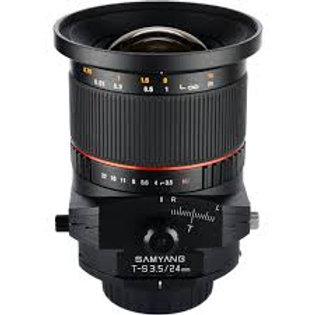 Samyang T-S 24mm f3.5 ED AS UMC (Canon)