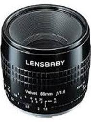 LENSBABY VELVET 56MM F1.6 SONY E (LBV56BX) Black