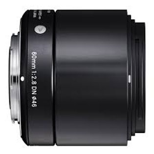 Sigma 60mm F2.8 DN Art Micro 4/3 Black