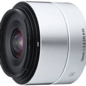 Sigma 19mm F2.8 DN Art for Micro Four Thirds Silver