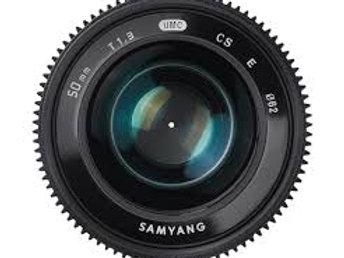 Samyang 50mm T1.3 AS UMC CS (Fuji X)
