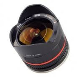 Samyang 8mm f/2.8 Fish-eye CS II Black (Fuji X)