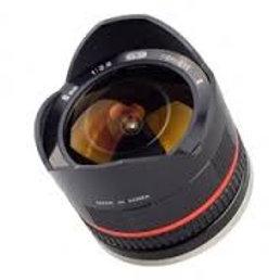 Samyang 8mm f2.8 Fish-eye CS II Black (Fuji X)