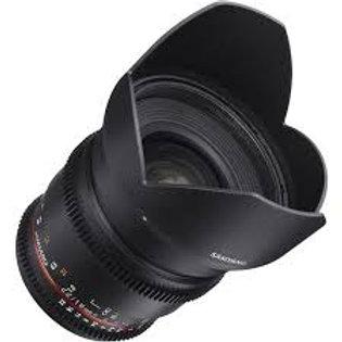 Samyang 16mm T2.2 ED AS UMC CS VDSLR Sony E-Mount