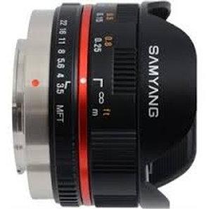 Samyang 8mm T3.8 Asph IF MC Fisheye CS VDSLR (3/4)