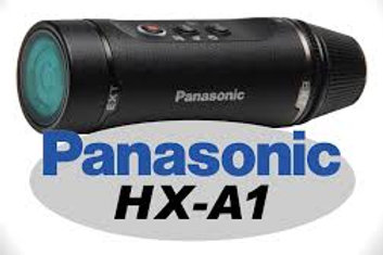 Panasonic HX-A1 Wearable HD Action Cam (Black)