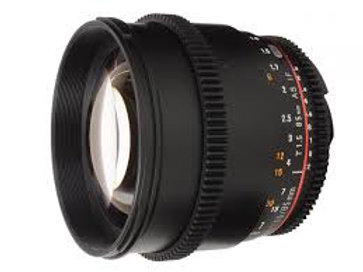 Samyang 85mm T1.5 AS IF UMC VDSLR for Canon