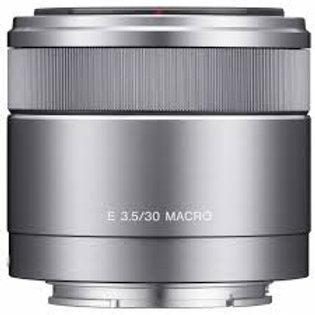 Sony E 30mm F3.5 Macro SEL30M35