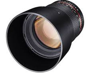 Samyang 85mm f1.4 Aspherical IF for Sony A