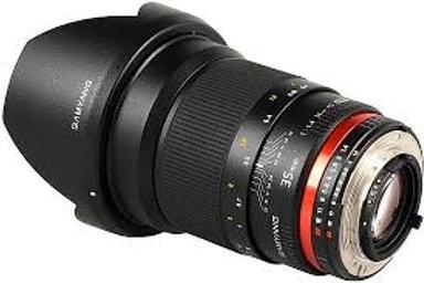 Samyang 35mm f1.4 AS UMC (Canon AE)