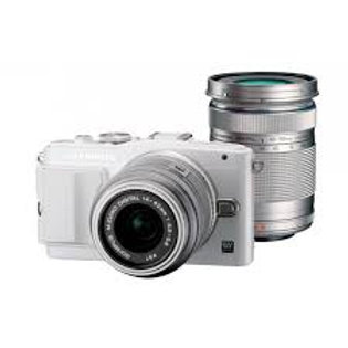 Olympus E-PL6 Twin kit 14-42mm + 40-150mm Silver